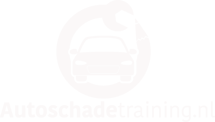 Logo Autoschadetraining.nl wit
